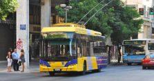 τρόλεϊ και λεωφορεία