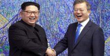 βόρεια και νότια κορέα