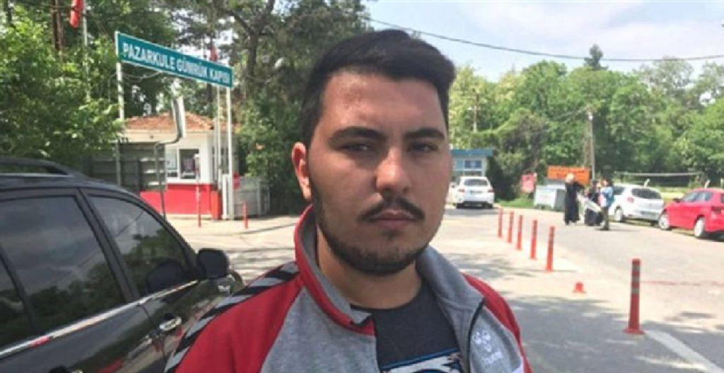 γιος τούρκου συλληφθέντα έβρου