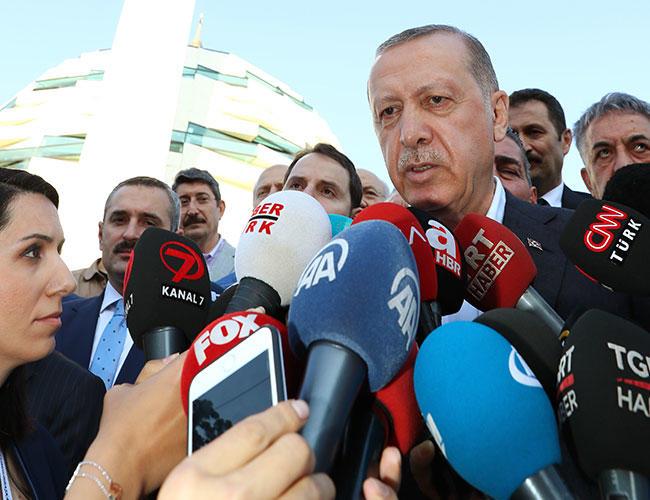 ερντογάν δημοσιογράφοι