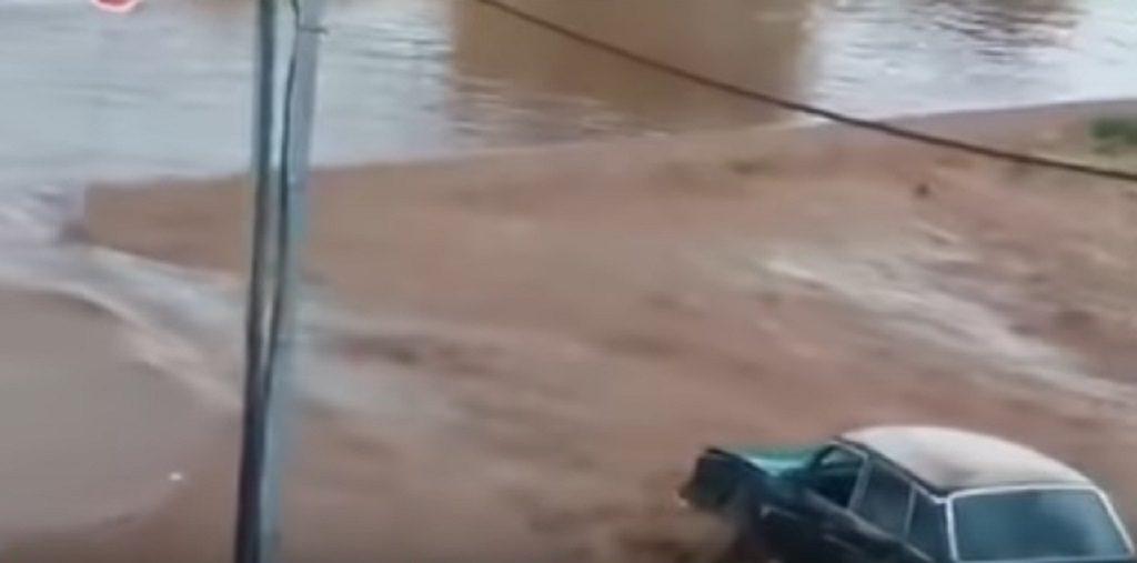 μάνδρα πλημμύρες