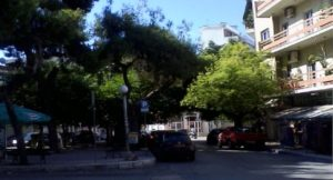 πάτρα, πλατεία βουδ
