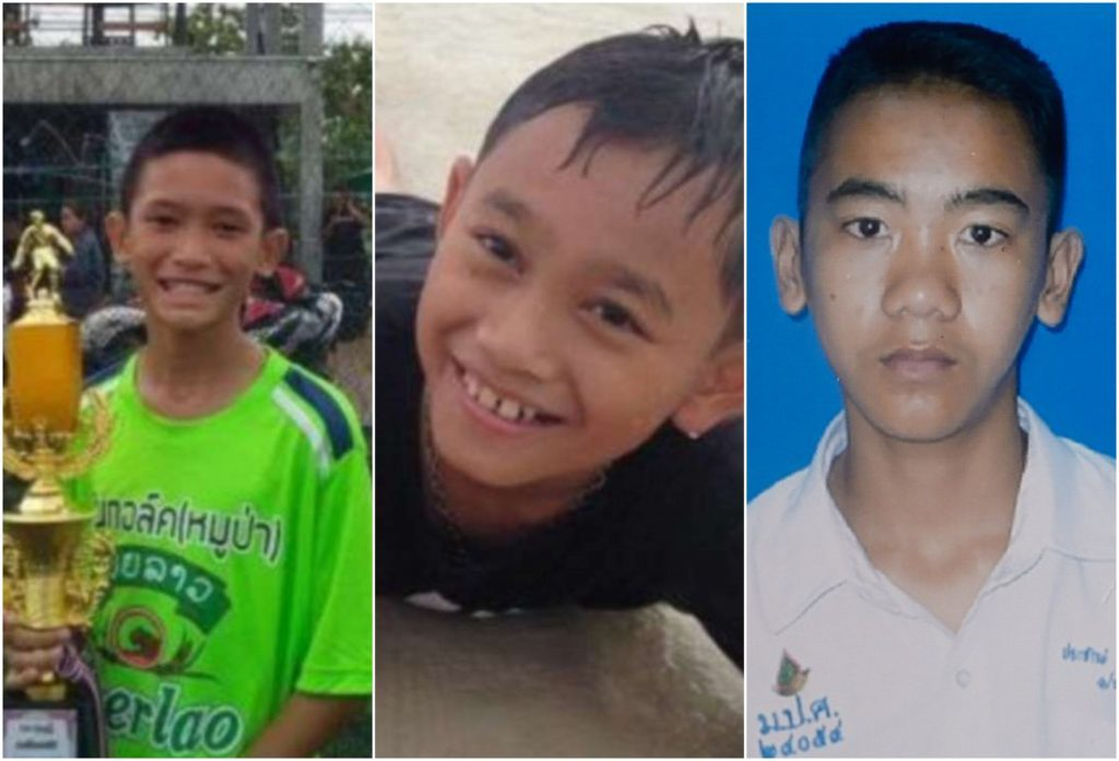 Αυτά είναι τα αγόρια που διασώθηκαν στην Ταϊλάνδη - Συγκλονίζουν οι ιστορίες τους (εικόνες)