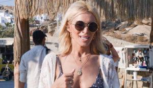 Κατερίνα Καινούργιου - Στη Μύκονο μόνο με το μαγιό της! : Celebrity News