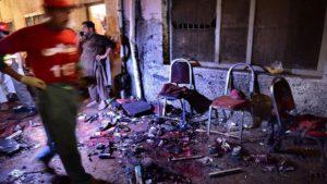 Στους 12 οι νεκροί από επίθεση αυτοκτονίας σε προεκλογική συγκέντρωση