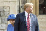 O Trump χθες εκνεύρισε τη βασίλισσα Ελισάβετ όχι 1 αλλά 3 φορές [βίντεο]