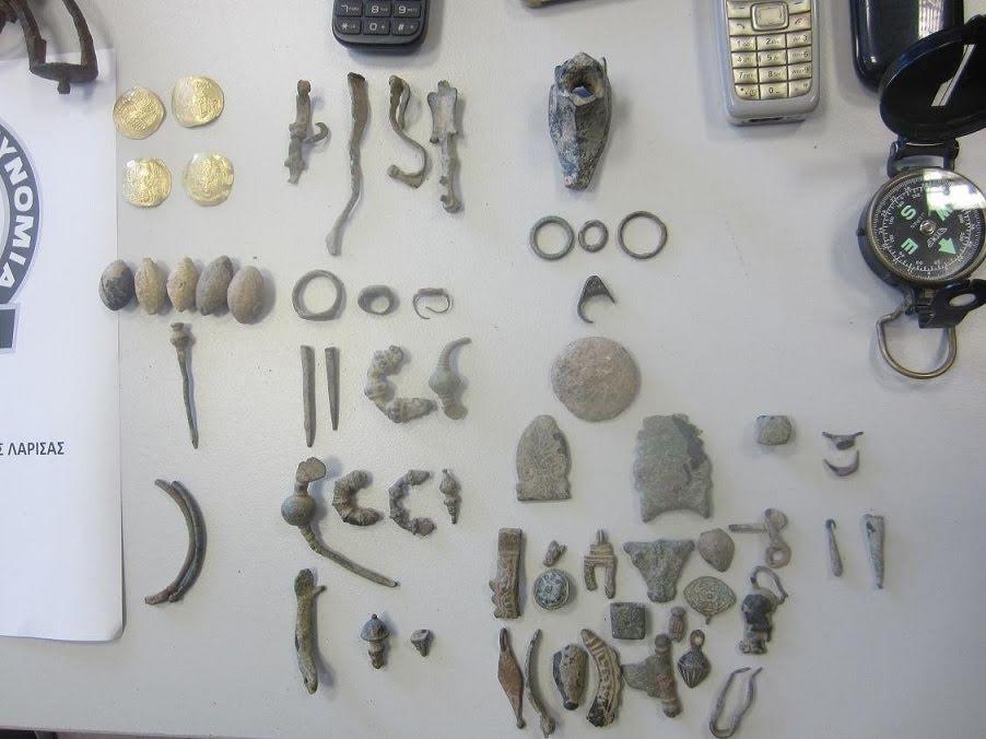 αντικείμενα από ανασκαφές