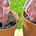 φυτρώνουν ευρώ
