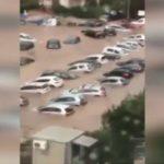 πάρκινγκ βυθισμένα αυτοκίνητα