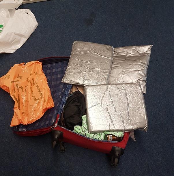 βαλίτσα με ναρκωτικά