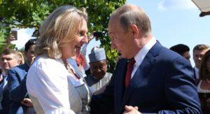 ο πούτιν σε γάμο στην αυστρία