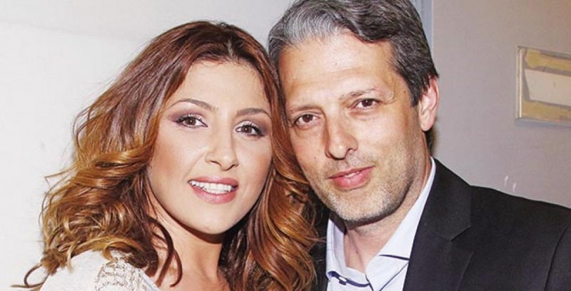 τραγουδίστρια με σύζυγο