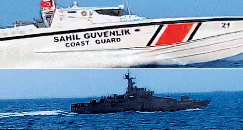 ελληνικά - τουρκικά σκάφη