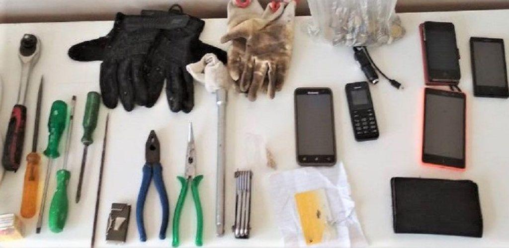 εργαλεία διαρρηκτών