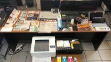 εργαστήριο πλαστογραφίας