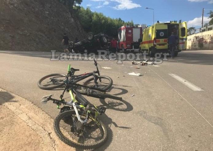 ποδήλατο, ατύχημα