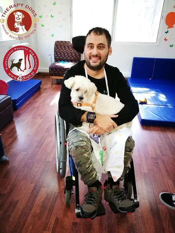 ασθενής με σκύλο