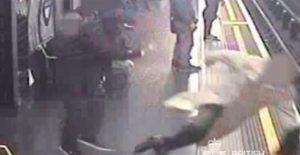 βία στο μετρό