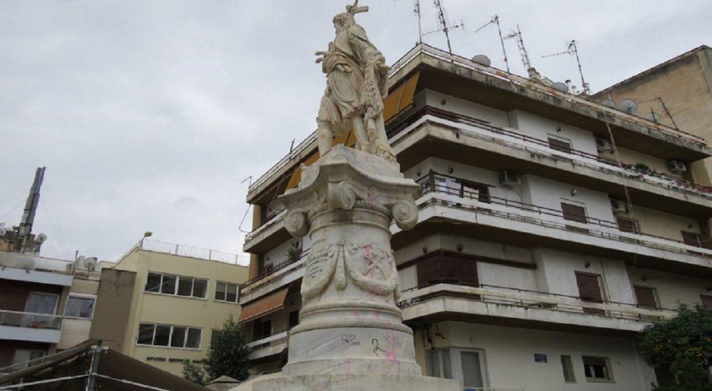 άγαλμα αθανάσιου διάκου