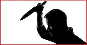 άνδρας με μαχαίρι