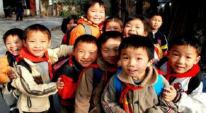 κίνα παιδιά