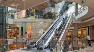 κυλιόμενες σκάλες εμπορικό