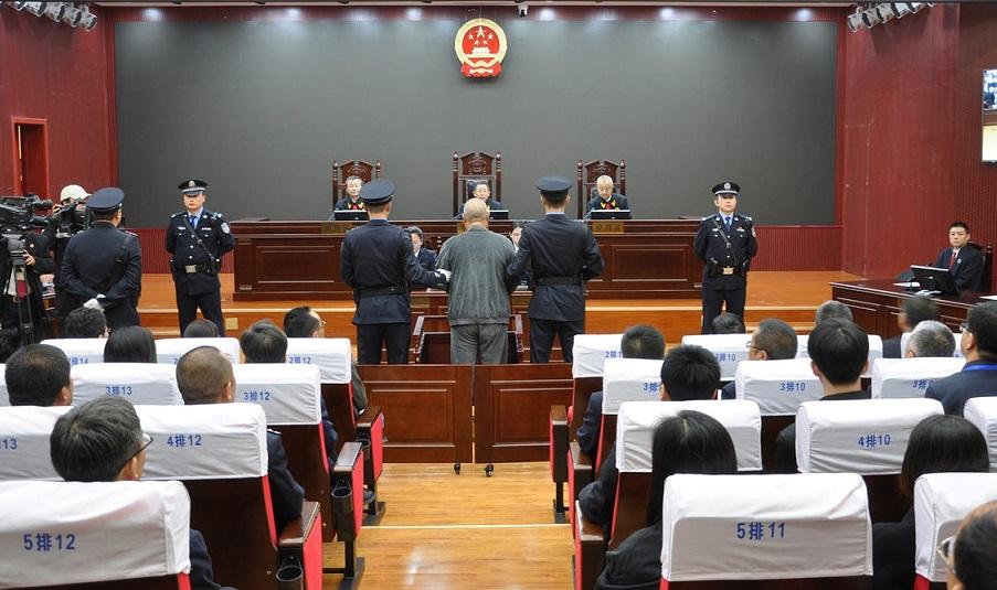 ο δράστης στο δικαστήριο