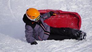 παιδί στα χιόνια