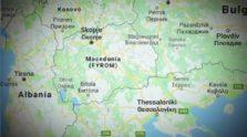 χάρτης μακεδονίας - σκοπίων