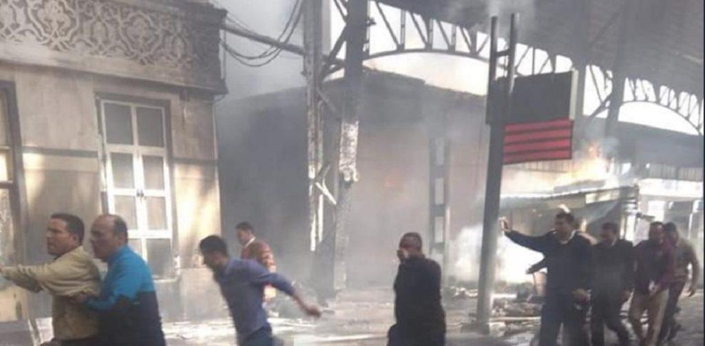αίγυπτος σιδηροδρομικό δυστύχημα