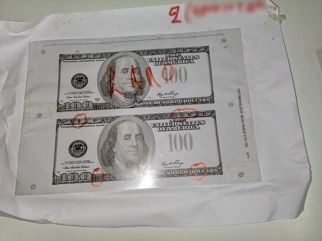 πλαστά δολλάρια
