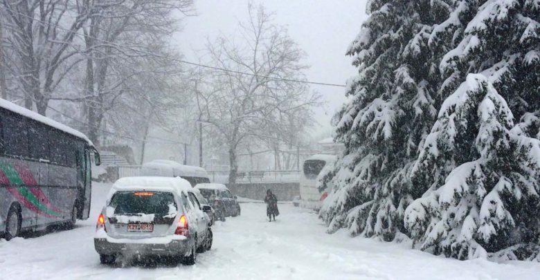χιονισμένη περιοχή