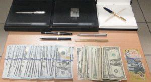 χρήματα από κλοπιμαία