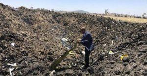 αιθιοπία, αεροπορικό δυστύχημα