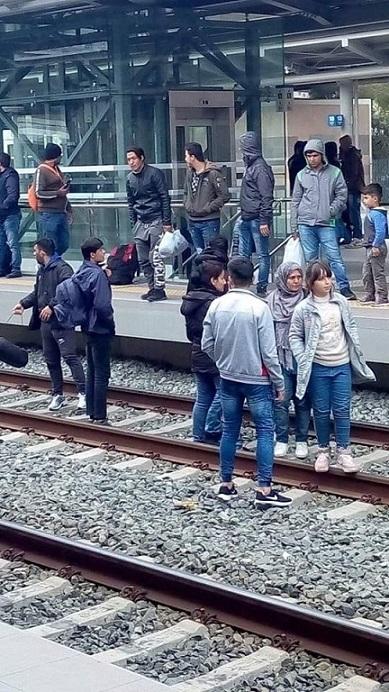 σταθμός τρένων