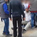 λευκάδα, βία σε διαδηλωτή