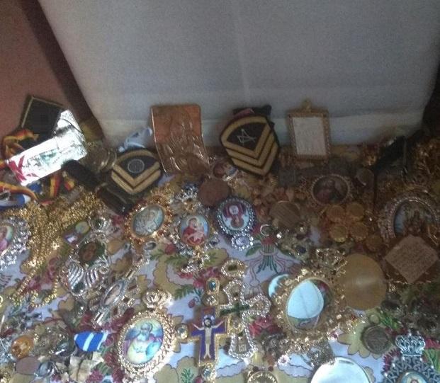 ο 56χρονος παραβίασε ξύλινη προθήκη βυζαντινής εικόνας