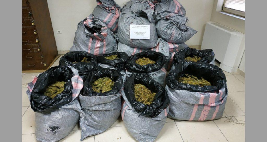 βρέθηκαν ακόμα 13 κιλά κάνναβης μετά τα 125 που κατασχέθηκαν