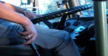 απίστευτο περιστατικό με οδηγό λεωφορείου στα χανιά