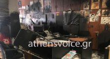 επίθεση έκανε ο ρουβίκωνας, στην athens voice