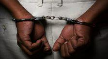 συνελήφθη αλλοδαπός, για κλοπές στο γέρακα