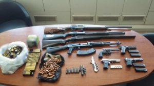 έγιναν 3 συλλήψεις στο ηράκλειο για παράνομη οπλοκατοχή
