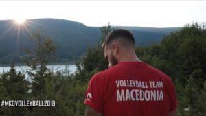 με μπλούζες που έγραφαν σκέτο μακεδονία, εμφανίστηκαν οι παίκετες βόλει των σκοπίων