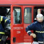 ολονύκτια μάχη με πυρκαγιές στην αττική